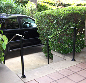 Iron Railings For Fall Prevention