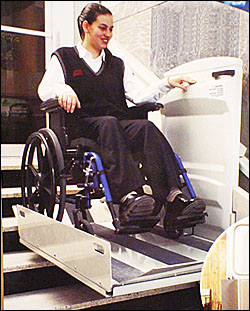 Incline Lifts for Wheelchairs and Scooters