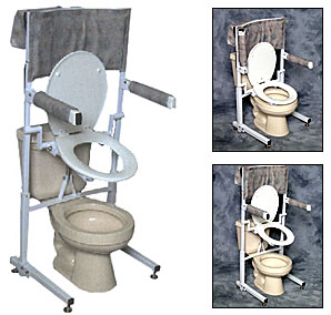 Power Toilet Aid Battery Operated Toilet Seat
