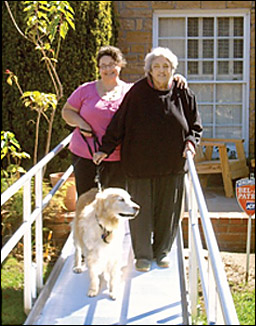 Accessible Home Wheelchair Ramp Donation