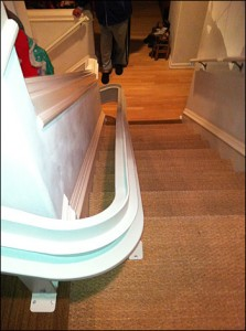 Bruno Stairlift with Custom Curves