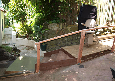 Bruno 2010E Outdoor Stair Lift