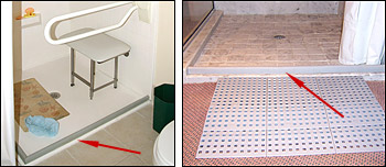 Shower Threshold