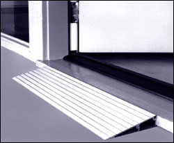Aluminum Threshold Ramp
